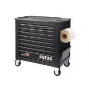 SONIC Equipment SONIC gereedschapswagen S11 zwart