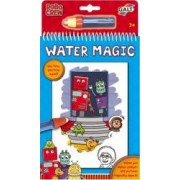 Water Magic Carte de colorat Roboti