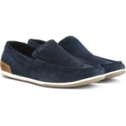 Clarks MEDLY SUN NAVY SUEDE Casuals For Men(Navy)