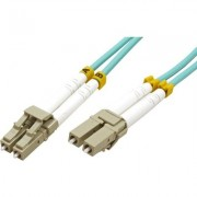 Cable Fiber Optic LC-LC, 50-125um,Dx,3m,21.99.8703