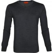Suitable Pullover Aron Merino Dunkelgrau - Anthrazit Größe XXL