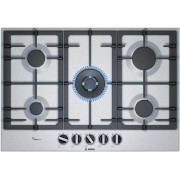 Bosch 75cm Serie 6 Natural Gas Cooktop (PCR7A5B90A)