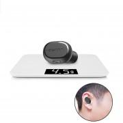 Audífonos Bluetooth Manos Libres Inalámbricos, Dacom K28 Audifonos Bluetooth Manos Libres 4.1 Auricular Micro Invisible Auricular Mini Auriculares Inalámbricos (negro)