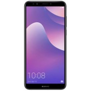 "Telefon Mobil Huawei Y7 Prime (2018), Procesor Octa-Core 1.1GHz/1.4GHz, IPS Capacitive touchscreen 5.99"", 3GB RAM, 32GB Flash, Camera Duala 13+2MP, Wi-Fi, 4G, Dual SIM, Android (Negru) + Cartela SIM Orange PrePay, 6 euro credit, 6 GB internet 4G, 2,000 mi"
