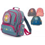 Benzi gyerek hátizsák - farmerhatású, több színben