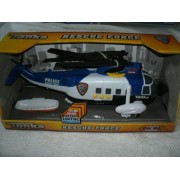 Tonka Rescue Force Light & Sound Police Helicopter with Hyper Lighting