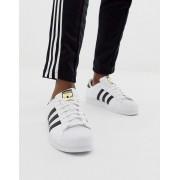Adidas Белые кроссовки adidas Originals Superstar c77124 - Черный