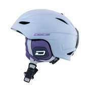 Dirty Dog MINDY Ski Helmet (Ladies) - White/Purple