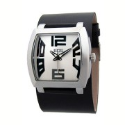 EOS New York CAPONE WIDE Watch Black/Silver 31LB