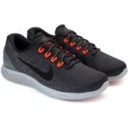 Nike LUNARGLIDE 9 Running Shoes For Men(Grey)