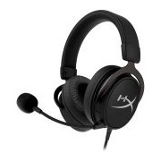 Kingston HyperX Wireless Bluetooth Gaming Headset MIX, black, 40mm dual chamber drivers, 20hrs battery life, up to 12m (BT 4.2), nbuilt-in + boom microphone, USB charging cable, PC cable 2m, headset c (HX-HSCAM-GM)