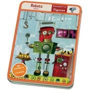 Mudpuppy Nauka przez zabawę Mudpuppy Magnetyczne postacie Roboty 6+