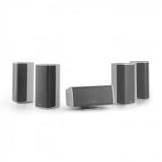 Numan Ambience 5.0 sistema de altavoces blanco incluye cable de altavoz 30m (CS12-Ambience-WH-SP)
