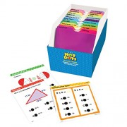 Educational Insights Hot Dots Math Standards-Based Review Cards-Grade 3