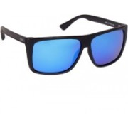 IDEE Over-sized Sunglasses(Blue)