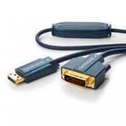 Clicktronic Cavo Monitor DisplayPort Maschio a DVI-D Maschio 10 m Blu