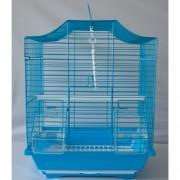 Max 203Bmo Klec modrá pro ptáky na papoušky 300 x 230 x 400 mm