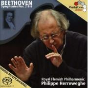 L Van Beethoven - Sinfonien 2 & 6 (0827949031465) (1 CD)