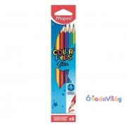 """Színes ceruza készlet 6db-os MAPED """"Color Peps"""""""