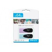 PNY Pendrive PNY Twin Pack 2x64 GB