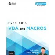 Excel 2016 VBA and Macros, Paperback