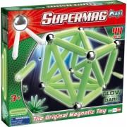 Supermag Maxi Glow - Set Constructie Luminos 44 Piese Supermag