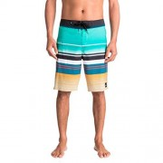 Quiksilver Men's Everyday Stripe Vee 21 Boardshort, Azul (Pool Blue), Mediano