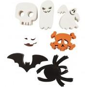 Merkloos Griezelige halloween decoratie figuren 400 stuks