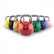 Capital Sports Set complet, kettlebell competitiv, 7 x ganteră rotundă, oțel (PL-361-366)