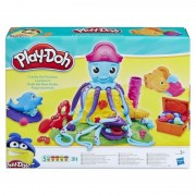 Plastilina cu forme Play-Doh Caracatita Cranky