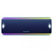 Тонколона Sony SRS-XB31, 2.0, безжична, с Bluetooth, с микрофон, мигащи светлини, IP67, синя