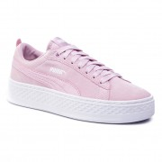 Puma Sneakersy PUMA - Smash Platform Sd 366488 06 Winsome Orchid/Winsom Orchid