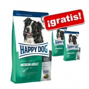 Happy Dog Supreme 12,5/15 kg + 2 kg ¡gratis! - Fit & Well Adult Medium (12,5 kg + 2 kg)