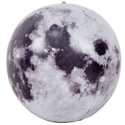 """12"""" x 12"""" x 12"""" A New 3D Moon ball Inflates Balls Fun Summer Gift For Children or Adults Earth Natural Satellite Model Suitable for Science Teaching"""