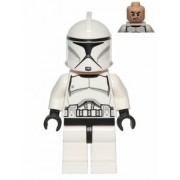 LEGO Star Wars - Clone Trooper - 1x Unopened Clear Factory Bag From Advent Calendar 2013