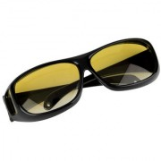 NV Night Driving HD Best Quality Wrap Arounds Glasses In Best Price Yellow Color Glasses Set Of 1
