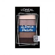 L´Oréal Paris La Petite Palette ombretto 4 g tonalità Stylist donna