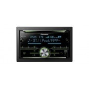 Pioneer FH-X730BT Bluetooth Black car media receiver - car media receivers (4.0 channels, MOSFET, 1.5 lines, LCD, Multi, Black)