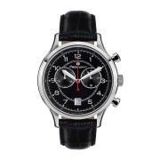 【86%OFF】Herrenuhr Orbite Polaire デイト クロノグラフ ウォッチ ブラック ファッション > 腕時計~~メンズ 腕時計