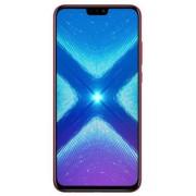"Telefon Mobil Huawei Honor 8X, Procesor Octa-Core 2.2GHz / 1.7GHz, IPS LCD Capacitive touchscreen 6.5"", 4GB RAM, 64GB Flash, Camera Duala 20+2MP, Wi-Fi, 4G, Dual Sim, Android (Rosu)"