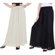 Uner Women black and white palazzo pant or Trousers