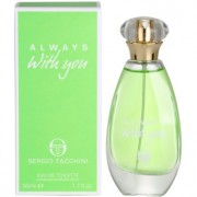Sergio Tacchini Always With You eau de toilette para mujer 50 ml