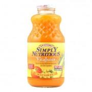 R.W. Knudsen Simply Nutritious Juice - Vita Juice - Case of 12 - 32 Fl oz.