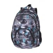 Hátizsák, 2in1, notebook tartóval és audió csatlakozóval, PULSE Teens Gray Corridor, szürke-kék (PLS121180)
