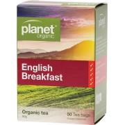 Organic Tea Bags - English Breakfast x50