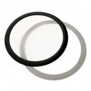 Filtru de praf DEMCiflex Dust Filter Round 140mm - Black/White