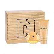 Paco Rabanne Lady Million sada parfémovaná voda 80 ml + tělové mléko 100 ml pro ženy