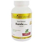 Karela 500mg Pure Extract 60 Veg Capsules By Natures Velvet