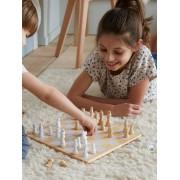 VERTBAUDET Jogo de xadrez em madeira bege medio liso com motivo
