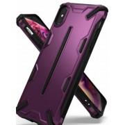 Protectie Spate Ringke Dual X 8809628563841 pentru iPhone Xs Max (Violet)